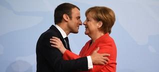 Macron drängt Merkel zu Reformen