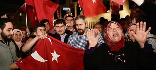 "Türken in Berlin: ""Erdogan kriegt alles unter Kontrolle"""