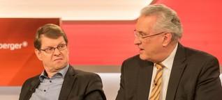 """Ralf Stegner und Joachim Herrmann bei Maischberger-Talk zu GroKo-Verhandlungen - """"Bringen zusammen, was nicht zusammen gehört"""""""