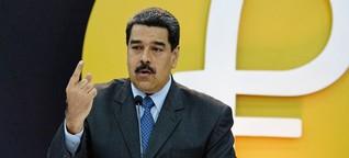 """Venezuela: Eine Kryptowährung """"stark wie Superman"""""""