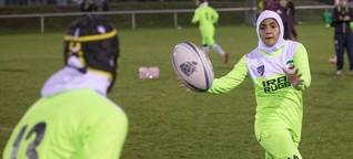 Iranisches Frauen-Rugby-Team in Berlin: Spielen für die Freiheit