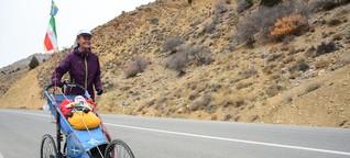 Langstreckenlauf durch den Iran: Die Frau ist nicht aufzuhalten