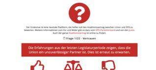 Grokomat als Entscheidungshilfe - SPD-Mitglieder entscheiden über Koalitionsvertrag | Politik | detektor.fm