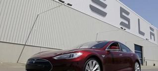 Tesla S stösst Mercedes und BMW erstmals vom Thron