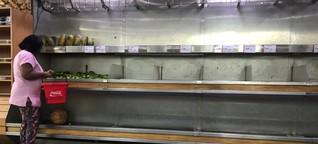 Hyperinflation und Lebensmittelmangel: Venezuelas große Leere - SPIEGEL ONLINE - Wirtschaft