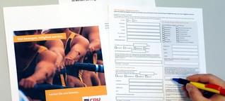 WELT: Gefälschte Mitgliedsanträge - Nicht nur SPD hat kein Konzept