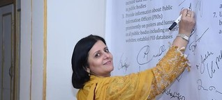 Datenjournalismus-Pioniere in Pakistan   Deutsche Welle