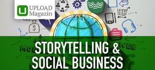 Grün, fair, gemeinnützig: Storytelling für Social Businesses