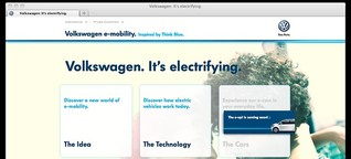 Volkswagens e-Mobility Plattform