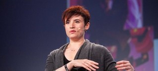 Laurie Penny erklärt Fanfiction auf der re:publica TEN