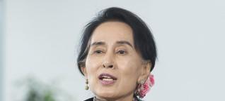 Myanmar: Suu Kyi spielt Gewalt gegen Rohingyas herunter