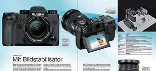Neu: Fujifilm X-H1 mit Bildstabilisator (IBIS)