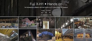 Fuji X-H1 • Hands on