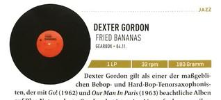 Dexter Gordon, Fried Bananas Mint 9