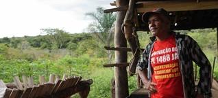 Captação de água por grandes empresas compromete rios do Cerrado