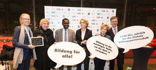 German civil society raises awareness on the education crisis and calls for funding GPE