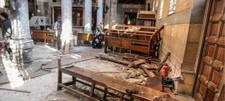 """Kopten in Ägypten: """"Die Attacken machen uns nur stärker"""""""