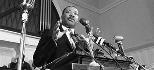 """Martin Luther Kings Todestag: """"Seine berühmte Rede wäre heute nicht hart genug"""""""