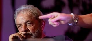 Erst droht das Militär, dann soll Lula in Haft