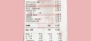 """""""Toastbrot: 59 Cent, reicht für zwei Tage"""""""