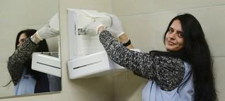 Öffentliche Toiletten in Frankfurt und Hessen: Wenig Platz für dringende Geschäfte