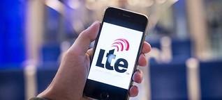 LTE-Abdeckung weiterhin lückenhaft