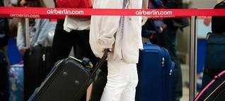 Air Berlin und Co.: Wer ist schuld, wenn der Koffer verschwindet?