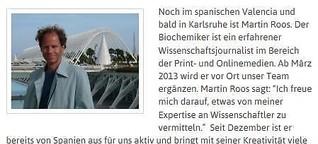 2013 - Von Spanien nach Karlsruhe ans NaWik