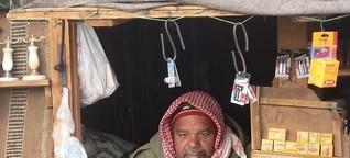 Shop Owner at Mt Sinai, Egypt