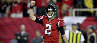 Groß, größer, Super Bowl: Patriots, Falcons und ganz viel Show