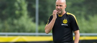 "BVB-Coach Bosz zieht positive Bilanz: ""Wir machen Fortschritte"""