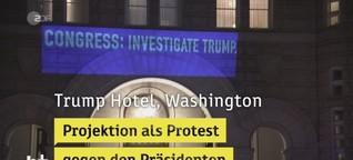 Künstlerischer Protest gegen Trump