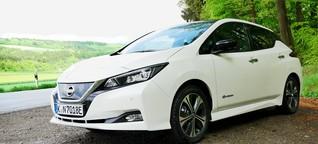Nissan Leaf: bis zu 415 km Reichweite