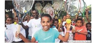 Armes Land, großes Tennis