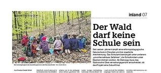 Der Wald darf keine Schule sein