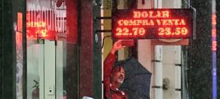 Argentinien steht wieder vor dem Abgrund