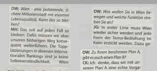Das Wiener Rot-Blaue Zeitungsexperiment