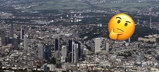 Frankfurter Stadtteile in Emojisprache | Frankfurter Neue Presse