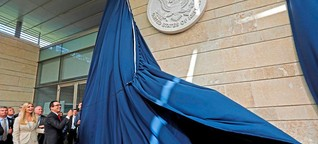 Der umstrittene Umzug der US-Botschaft nach Jerusalem