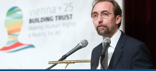 Menschenrechte: UN-Hochkommissar teilt gegen Österreich aus