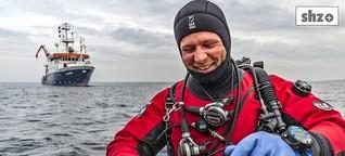 Der Wassermann: Florian Huber taucht durch die Weltmeere