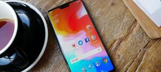 Oneplus 6 im Test: So schlägt sich das High-End-Smartphone für 500 Euro