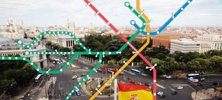 Madrid: Ab jetzt zu Fuß