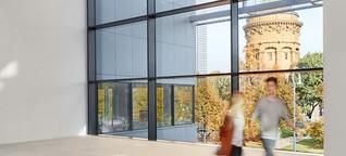 Die neue Kunsthalle Mannheim: Stadt in der Stadt für...