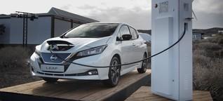 Nissan und Tennet testen Leaf als Stromspeicher