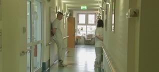 Nahaufnahme: Pflegeschüler