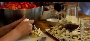 Über den Tellerrand kochen - eine Reportage für den SPIEGEL