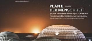 Plan B der Menschheit