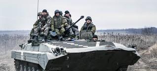 Ostukraine: Reportage aus einem vergessenen Krieg - mitten in Europa