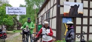 Kulturelle Landpartie im Wendland - Kräuterwanderung und Konzerte statt Protest